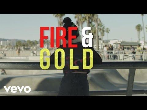 Fire N Gold Lyric Video