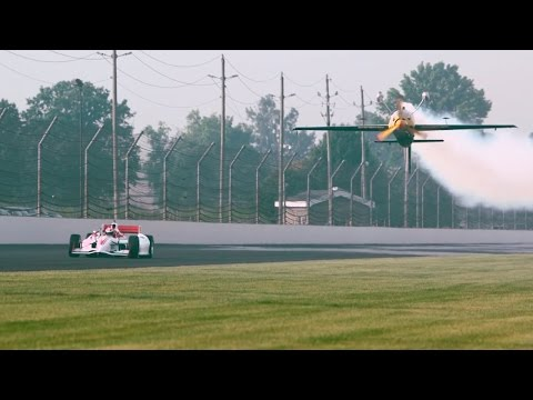 IndyCar Driver Alexander Rossi VS Kirby Chambliss Edge 540