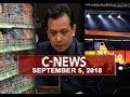 News (September 5, 2018)
