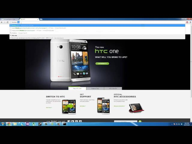 HTC One Toolkit Review + Unlocking Instructions