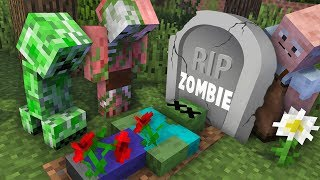 Video Monster School : RIP Zombie Challenge - Minecraft Animation MP3, 3GP, MP4, WEBM, AVI, FLV Juni 2019