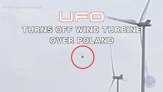 "http://www.viralquickies.com On April 17, 2016, Polish filmmaker group, Grupa obserwacyjna captured a UFO hovering over a wind turbine farm when it briefly turns off the blades. More UFO Videos:http://www.viralquickies.com/ufo.htmlOriginal Source: https://www.youtube.com/watch?v=CAftoP477psUFO's: Gov. Officials Go on the Record.http://amzn.to/1BjyVJGA compilation of the best UFO sighting videos of 2015! http://www.viralquickies.com/best-ufo-sightings-of-2015-compilation.htmlNew! NASA UFO - Leaked Moon images and video!http://www.viralquickies.com/new-nasa-ufo---leaked-moon-images-and-video.htmlThe Most Epic UFO Video Compilation Ever Of All Time X Infinity!http://www.viralquickies.com/the-most-epic-ufo-video-compilation-ever-of-all-time-x-infinity.htmlLeaked: Top Secret Mars NASA Footage Compilationhttp://www.viralquickies.com/leaked-top-secret-mars-nasa-footage-compilation.htmlNASA: Secret UFO Tapes - Compilation of Captured UFO Footage! http://www.viralquickies.com/nasa-secret-ufo-tapes-compilation-of-captured-ufo-footage.htmlAguadilla UFO Captured By Puerto Rico Coast Guardhttp://www.viralquickies.com/aguadilla-ufo-captured-by-puerto-rico-coast-guard.htmlCow Abduction Caught On Camera!http://www.viralquickies.com/cow-abduction-caught-on-camera.htmlBest of UFO'shttp://www.viralquickies.com/best-of-ufos.htmlBest UFO Videos Ever: Compilation Vol. 1http://www.viralquickies.com/best-ufo-videos-ever-compilation-vol-1.htmlMysterious Plane Flying Backwards at French Open & More!http://www.viralquickies.com/mystery-plane-flying-backwards-compilation.htmlThe Phoenix UFO Phenomenon http://www.viralquickies.com/the-phoenix-lights-ufo-phenomenon.htmlUFO Being Transported Near Area 51 In Nevada! Must See!! https://www.youtube.com/watch?v=WNdxkROpZUYBest UFO Footage Ever Recorded!!!https://www.youtube.com/watch?v=Kewju2TwILYMost Famous UFO Sighting: Washington,DC 1952 https://www.youtube.com/watch?v=toFkU3OK7pIUFO Captured On Tape During Russia Meteor Explosion!https://www.youtube.com/watch?v=1iehgK5xv9QGrey Aliens Caught On Tape Compilation *HD*https://www.youtube.com/watch?v=SohT7wIJTMo&index=9Mexico Ufo Encounter 11 UFO's The most famous sighting ever!https://www.youtube.com/watch?v=KRvWRrf__XANASA Shuttle UFO Sightings Best-Edition ""Compilation""https://www.youtube.com/watch?v=c9vW8K0W7UYArea 51 - American Jet Chasing a UFO - TOP SECRET VIDEOhttps://www.youtube.com/watch?v=tiQq4S_omjoTurkey UFO With Alienshttps://www.youtube.com/watch?v=uvObCG-cMRwDelbert Newhouse and Nick Mariana Ufo footage from the 1950shttps://www.youtube.com/watch?v=DTwBGVlj6Y4Real UFO crash caught on tapehttps://www.youtube.com/watch?v=br5FTCLL8vYUFO Battle Of Los Angeles Original Footage & Broadcast February 26, 1942https://www.youtube.com/watch?v=5m7736RMBEgUFO crashes in the White Sands desert, New Mexicohttps://www.youtube.com/watch?v=LW7JaAbd3VYUFO Sighting in Texashttps://www.youtube.com/watch?v=x8_yRdcRlSoAstronaut Gordon Cooper Talks About UFOshttps://www.youtube.com/watch?v=dvPR8T1o3DcAstronaut Edgard Mitchel speaks on UFO sightings and alien visitationhttps://www.youtube.com/watch?v=96gl6kNbsh0NASA UFO audio recordingshttps://www.youtube.com/watch?v=C9runNgtTb0NASA UFOs on early STS48 missionhttps://www.youtube.com/watch?v=Tzs9cnS6qQYStory Musgrave talks about Extraterrestialshttps://www.youtube.com/watch?v=xe2JE3NzXOcUFO Mexico Video taped by patrol carhttps://www.youtube.com/watch?v=9mcvfaG3j4cUFO NASAs unexplained tether overload incidenthttps://www.youtube.com/watch?v=As-wYmFYb3ITHE MOON, an alien UFO base, a satellite that doesn't belong to us...https://www.youtube.com/watch?v=uf4xv0IW4IgAliens encountered during Apollo 14 Missionhttps://www.youtube.com/watch?v=pISBYTJEmjkReal footage from space. It shows real ufos leaving earth...https://www.youtube.com/watch?v=c5Gg9xkOlT4UFO The Bob Lazar Interview (Full Documentary)https://www.youtube.com/watch?v=3VWmNm6J09MUFOs Space FireFlies Is This What John Glenn Sawhttps://www.youtube.com/watch?v=z60omoRaOC0http://www.viralquickies.com"