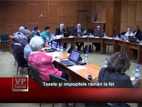 Taxele şi impozitele rămân la fel