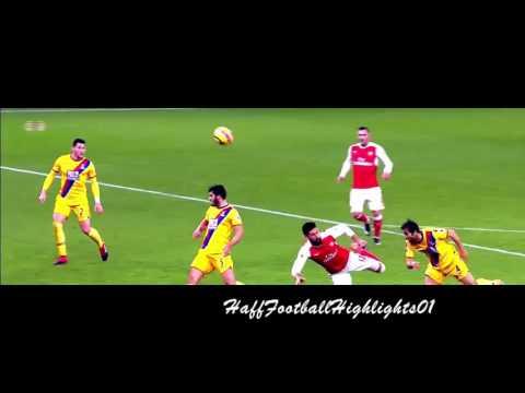 Olivier Giroud Incredible Scorpion Kick Goal vs Crystal Palace 1080i HD (01/01/2016)