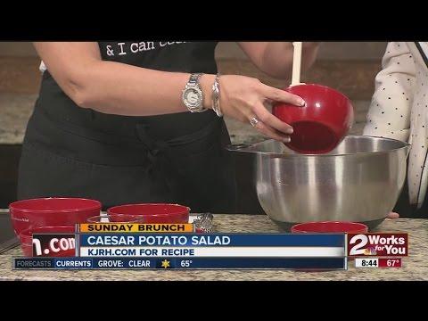 Sunday Brunch:  Julie Yoder's Caesar Potato Salad Part I