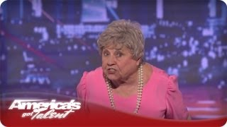 Nonton Granny G Raps About Family Values   America S Got Talent Audition Season 7 Film Subtitle Indonesia Streaming Movie Download