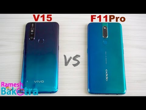 Vivo V15 vs Oppo F11 Pro SpeedTest and Camera Comparison