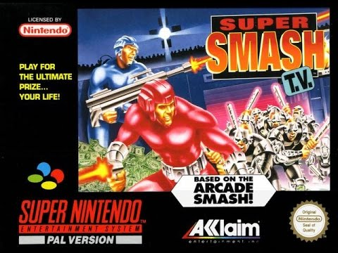smash tv super nintendo rom