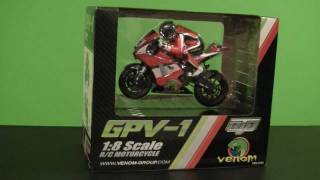 Venom GPV-1 RC Motorcycle Part 1