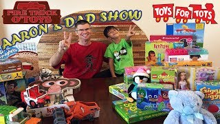 Donating Toys to Kids for Christmas - Giving back to our Community - Toys for Tots Toy Donation