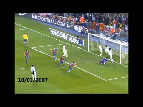 Lionel Messi-All 10 Goals Vs Real Madrid HD