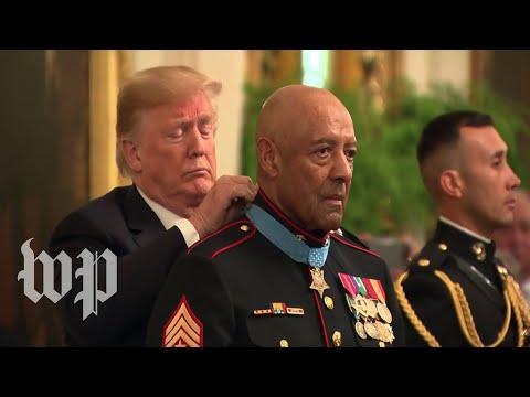 Trump awards Medal of Honor to Vietnam War veteran