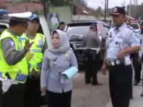 RAZIA DISHUB DIBUBARKAN POLISI