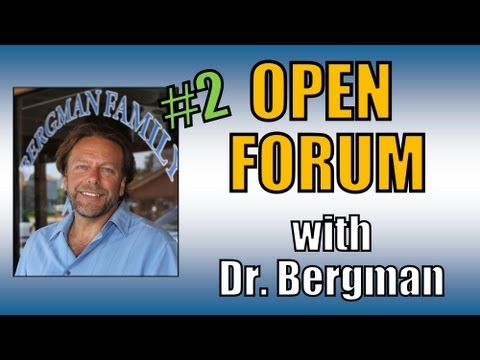 How to live a healthier life...Open Forum 2