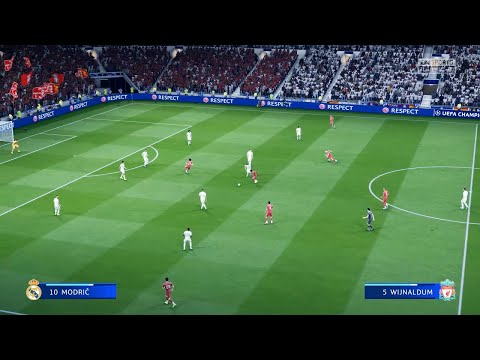FIFA 20 - Amazing Realism LIVE Broadcast Camera | Real Madrid vs Liverpool | - PS4 Pro