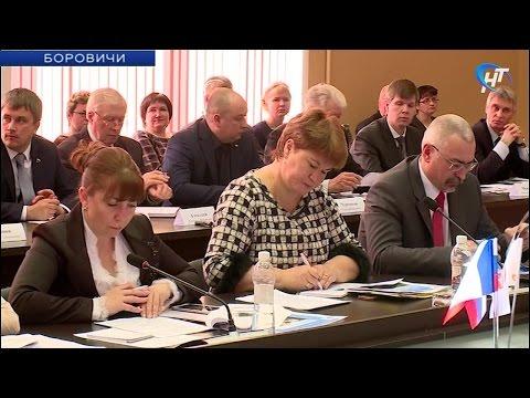 В Боровичах прошло выездное заседание Правительства Новгородской области