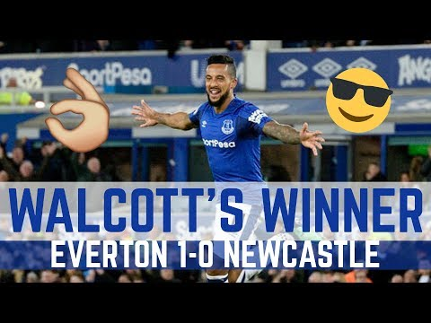 Video: WALCOTT'S WINNER! - EVERTON 1-0 NEWCASTLE