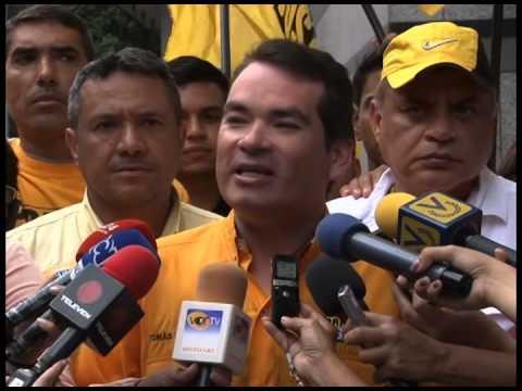 """Tomas Guanipa: """"Con la nueva Asamblea Nacional llenaremos de productos las bolsas vacías"""""""
