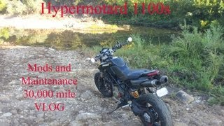 6. Vlog about my 08 Ducati Hypermotard 1100s version 2.1