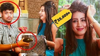 Video OMG!! Ennadhu 35000 RUPEES Cooling Glass-ah! | Inside Sanjjana Galrani's Handbag MP3, 3GP, MP4, WEBM, AVI, FLV November 2018