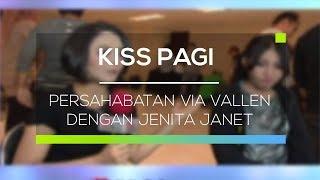 Video Persahabatan Via Vallen dengan Jenita Janet - Kiss Pagi MP3, 3GP, MP4, WEBM, AVI, FLV Juli 2018