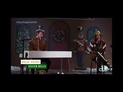 Silver Bells cover by Billie Eilish --- iHeart Radio Jingle Ball 2020