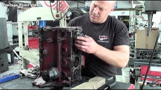 Engine Rebuild for Classic Car Time-Lapse
