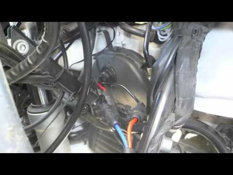 How to Install HID headlights on a BMW R 1150RT