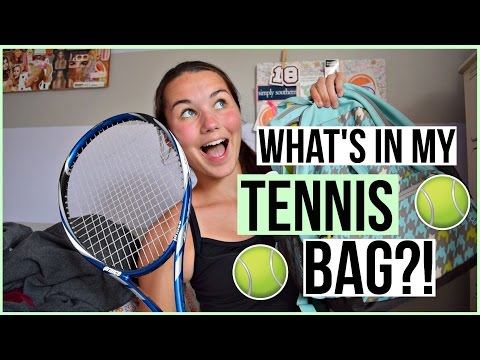 What's In My Tennis Bag!