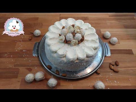 raffaello cake - ricetta