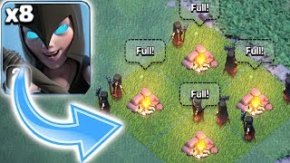 Video ALL NIGHT WITCH ATTACK!!! | Clash of clans | MASS GAMEPLAY!! MP3, 3GP, MP4, WEBM, AVI, FLV Juni 2017