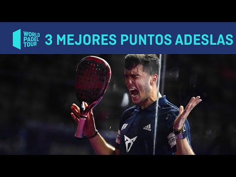Los 3 Mejores Puntos Masculinos ADESLAS del Estrella Damm Barcelona Master 2020 | World Padel Tour