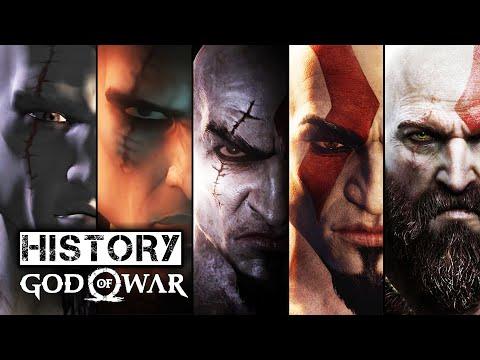 History/Evolution of God Of War (2005-2018)