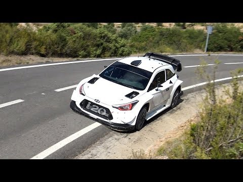 Test Andreas Mikkelsen | Hyundai i20 WRC on Tarmac | RallyRACC 2017 by Jaume Soler