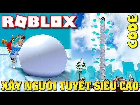 Roblox | LẦN ĐẦU KIA LÀM NGƯỜI TUYẾT SIÊU CAO  - Snowman Simulator (Code) | KiA Phạm - Thời lượng: 23:46.
