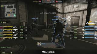 FarmSkins Championship 2 || PRIDE vs VALIANCE bo3 || by @Deq & @Toll map2