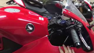 8. HOW TO: Honda CBR600RR 2013, 2014, 2015, 2016 fairing removal and air filter replacement