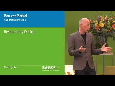 Lecture Ben van Berkel, Research by Design at Building Holland 2016 (Dutch)