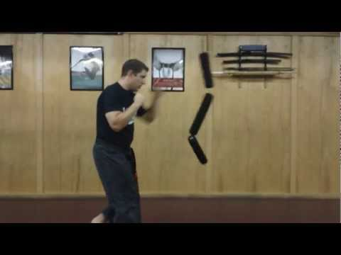 How to Use Coordination Punching Bag:  Martial Arts Basic Training
