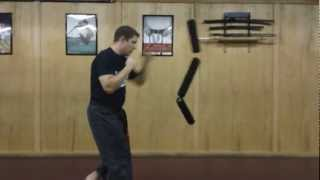 Basic Martial Art Moves Using CorBag