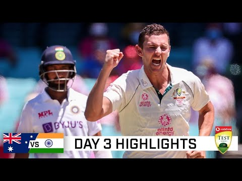 Bowling, fielding gives Australia the edge over India | Vodafone Test Series 2020-21