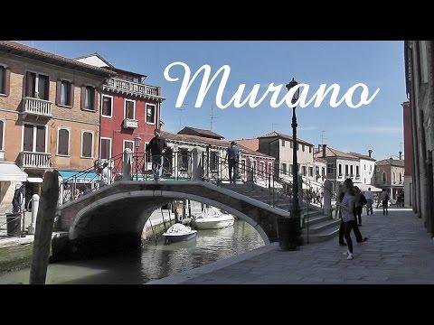 VENICE: Murano island - glass making [HD] (видео)