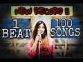100 SONGS (New Record) FIRST FEMALE COVER