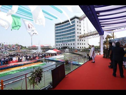 PM Modi inaugurates Diamond Manufacturing Unit in Surat, Gujarat