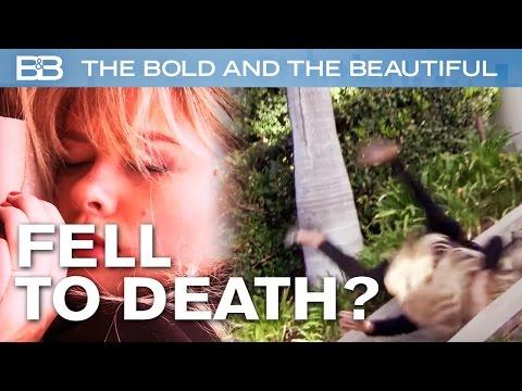 beautiful: hope cade dalle scale e perde il bambino
