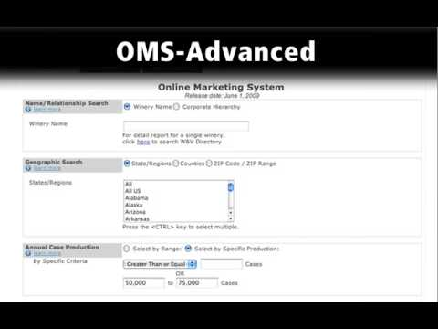 OMS Product Overview