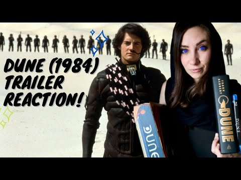 DUNE (1984) TRAILER REACTION -- First Time Seeing David Lynch's DUNE! | Popcorner Reviews