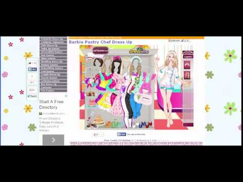 Online Arcage Game Barbie Pastry Chef
