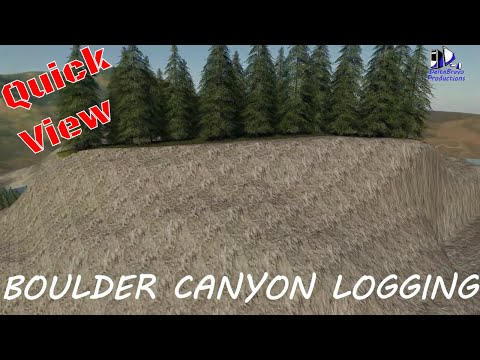 Boulder Canyon Logging Map v1.0