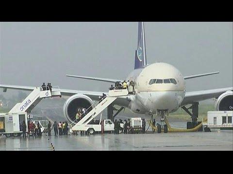 Θρίλερ με αεροπλάνο στη Μανίλα από εσφαλμένο συναγερμό